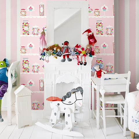 Tranquil child's bedroom